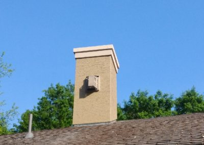Metal Cap and Flashing, ICE Stucco Repairs, Houston, TX