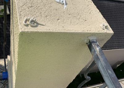 metal cap and flashing ice stucco repairs houston tx