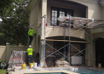 Balcony Repalcement, ICE Stucco Repairs, Houston