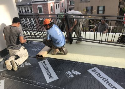 Balcony Repairs, ICE Stucco Residential Repairs, Houston, TX